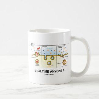 Mealtime Anyone? (Endocytosis Digestion Humor) Coffee Mug