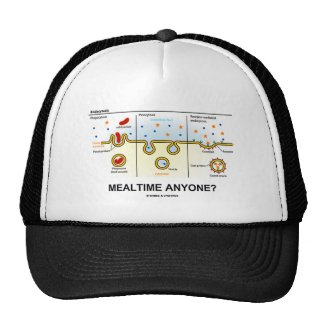Mealtime Anyone? (Endocytosis Digestion Humor) Hat