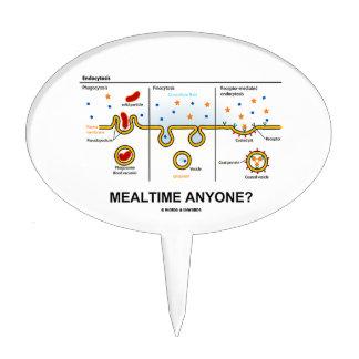 ¿Mealtime cualquier persona? (Consumición celular  Figura Para Tarta