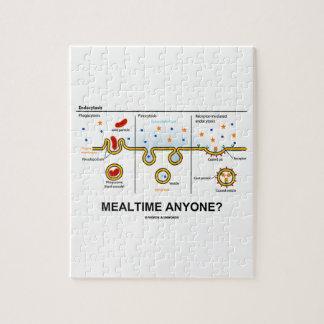 ¿Mealtime cualquier persona? (Consumición celular  Puzzle Con Fotos