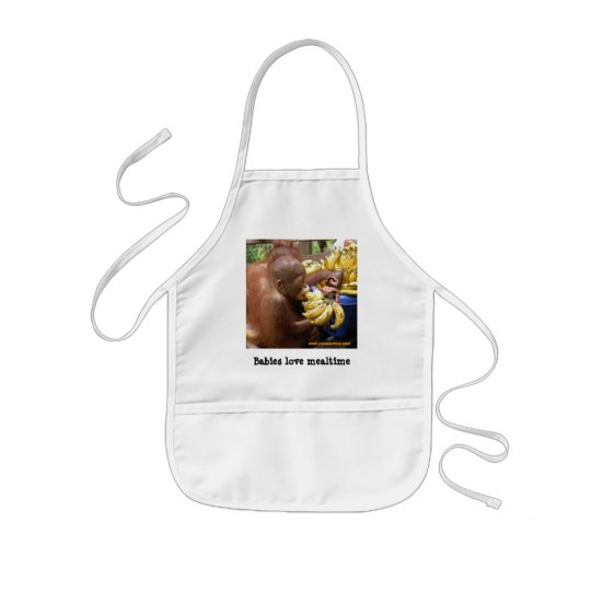 Mealtime for Babies Kids' Apron