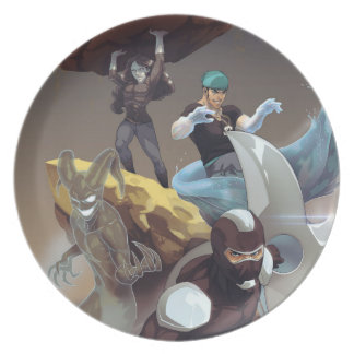 Mealtime with Villains Dinner Plate