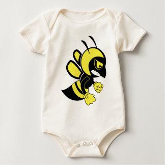 mean bee fun baby bodysuit