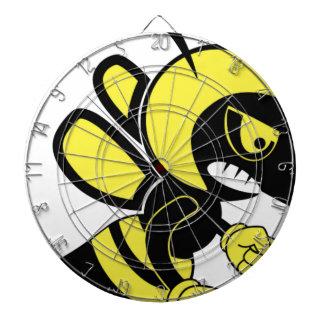 mean bee fun dart board