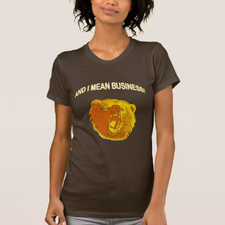 Mean Business Bear T-Shirt