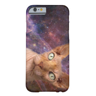 Mean cat protects your phone barely there iPhone 6 case