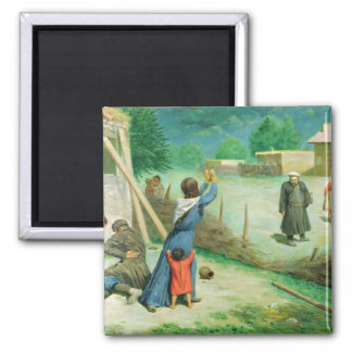 Mean Collection, 1891 2 Inch Square Magnet