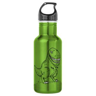 Mean Cool Dinosaur T Rex Cartoon Stainless Steel Water Bottle