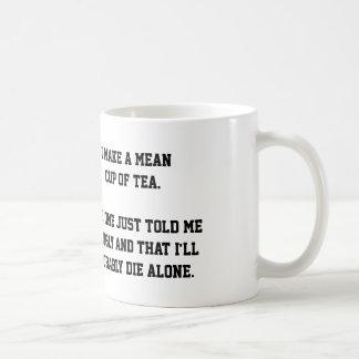"""Mean Cup of Tea"" mug"
