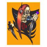 Mean Cyborg Skull Flyers