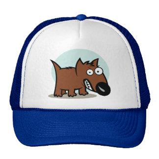 Mean Dog Growling Trucker Hat