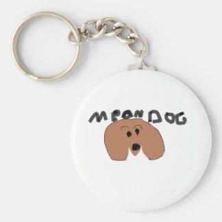 mean dog key chain