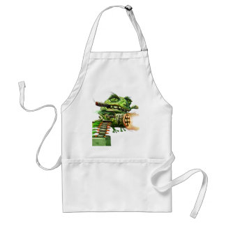 Mean Frog Apron