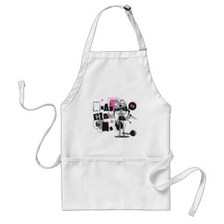 mean girll adult apron