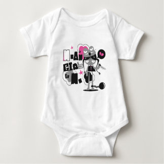 mean girll baby bodysuit