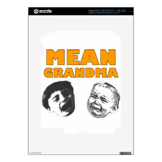 Mean Grandma iPad 3 Decal