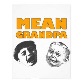 Mean Grandpa Letterhead