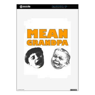 Mean Grandpa Decals For The iPad 2