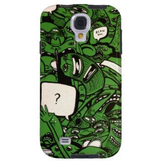 Mean green Blah Blah Machine! Galaxy S4 Case