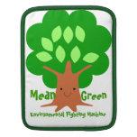 Mean Green Environmental Fighting Machine Sleeve iPad Sleeve