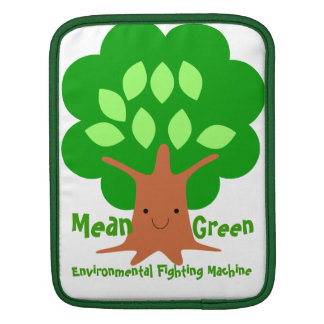 Mean Green Environmental Fighting Machine Sleeve Sleeves For iPads