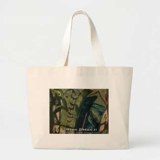 mean green II Canvas Bags