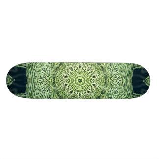 Mean Green Kaleidoscope Skateboard