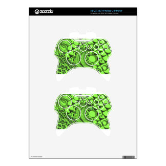 Mean Green Pattern Xbox 360 Controller Decal