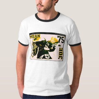 Mean Joe, Black and Gold Pittsburgh Stlyle player T-Shirt