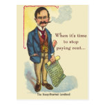 Mean Landlord First Time Homebuyer Prospecting Postcard
