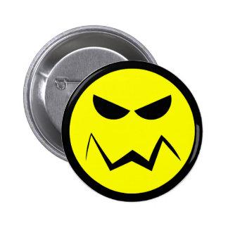 Mean Mister Smiley Face Button