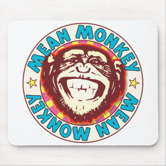 Mean Monkey Mouse Pad
