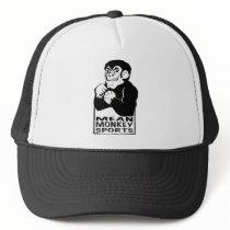 Mean Monkey Sports Apparel Trucker Hat