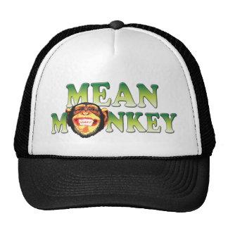 Mean Monkey Trucker Hats