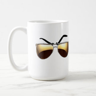 Mean Muggin' With Aviators Coffee Mug