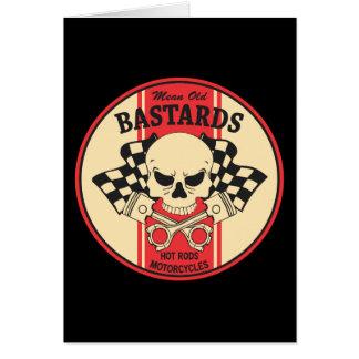 Mean Old Bastards Card