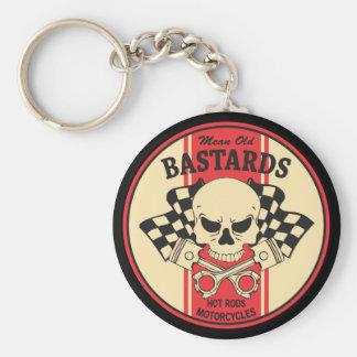 Mean Old Bastards Keychain