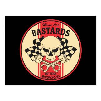 Mean Old Bastards Postcard