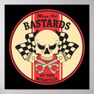 Mean Old Bastards Poster