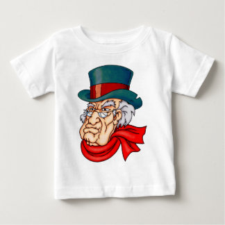 Mean Old Scrooge Baby T-Shirt