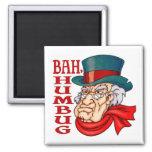 Mean Old Scrooge Fridge Magnet