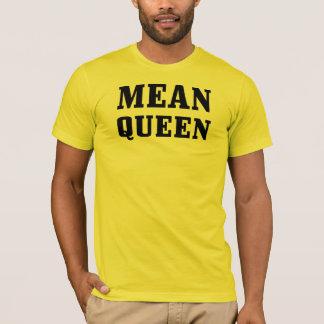 Mean Queen Basic American Apparel T-Shirt