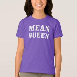 Mean Queen Girls' Basic American Apparel T-Shirt
