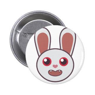 Mean Rabbit Button