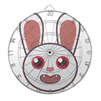 Mean Rabbit Dart Board