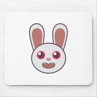 Mean Rabbit Mouse Pad
