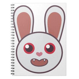Mean Rabbit Notebook