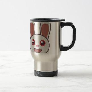 Mean Rabbit Travel Mug