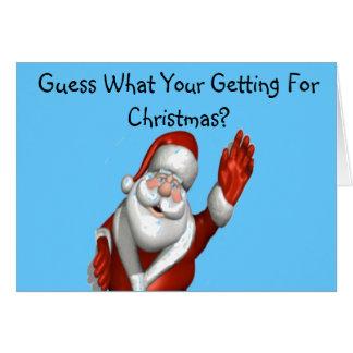 Mean Spirited Christmas Card
