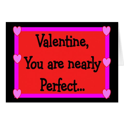 Mean Spirited Valentine Cards---Hilarious Greeting Card